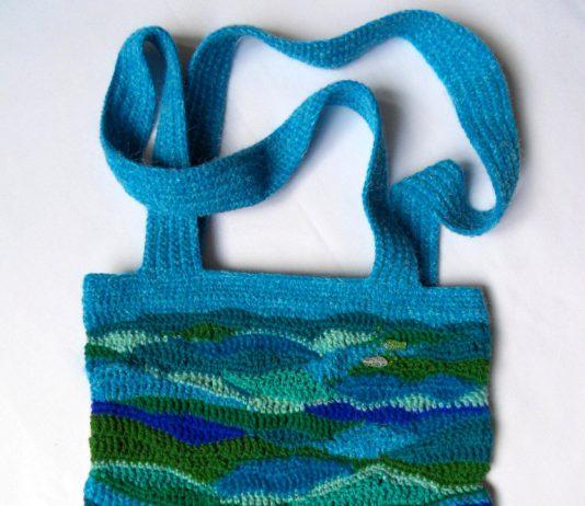Вязаная сумка Морское настроение