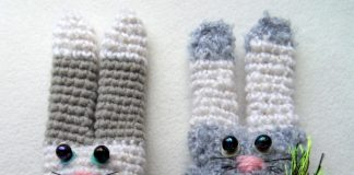 Вязаные зайцы