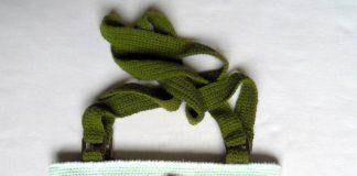 Вязаная крючком сумка Маки