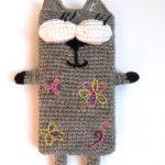 Серый коточехол девочка