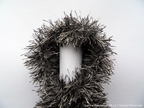 Вязаный Ёжик в тумане, вязание головы