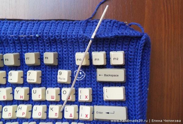 Вязаная сумка - как сделать чёткие грани