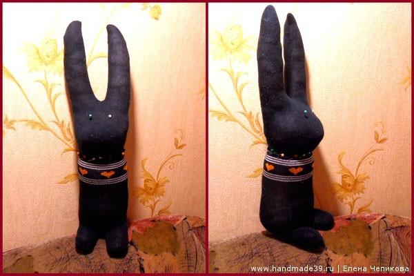Как сшить зайца из носков