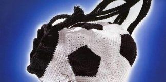 Вязаный рюкзак Футбольный мяч