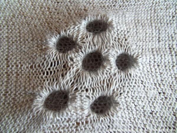 Вязание техника шибори