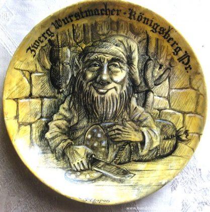 Тарелка Гном-колбасник
