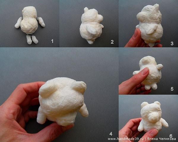 Как сделать игрушку своими руками из ваты