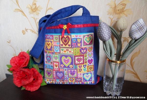 Bag Hearts 11 Сумка «Сердца»