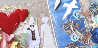 Скрапбукинг: свадебные открытки