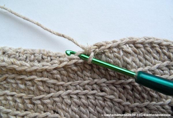 Фриформ - техника вязания крючком
