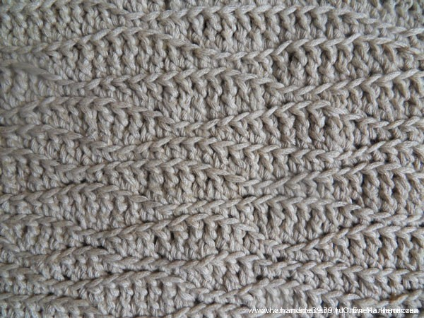 Фриформ Волна - техника вязания крючком
