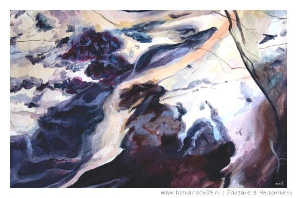 Набор открыток Каменная радуга. «В мечтах о Прекрасной Даме» (яшма)