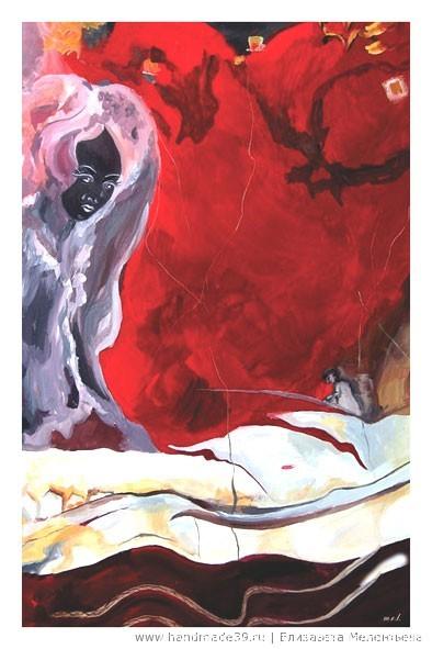 Набор открыток Каменная радуга. «Сон рыбака» (яшма)