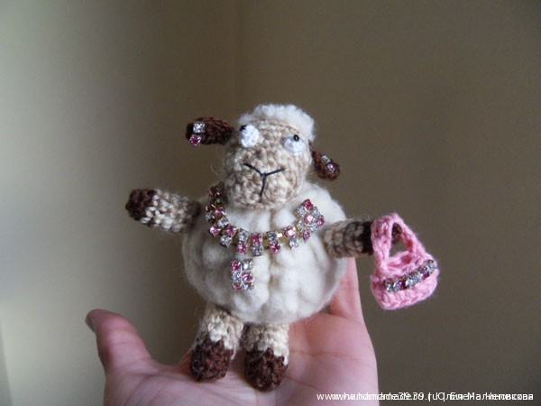Мягкая игрушка Гламурная овца