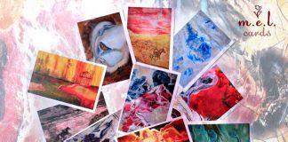 Набор открыток Каменная радуга