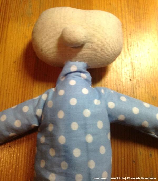 Мягкая игрушка Домовёнок Кузя. Пришитый носик.
