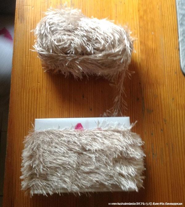 Мягкая игрушка Домовёнок Кузя. Заготовка для причёски.