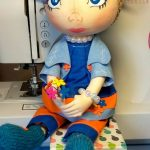 Голубая куколка