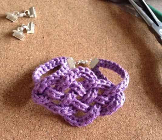 Плетёный браслет Кельтский узел