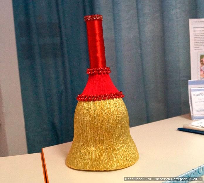 Свит-дизайн: МК «Колокольчик к 1 сентября». Колокольчик.