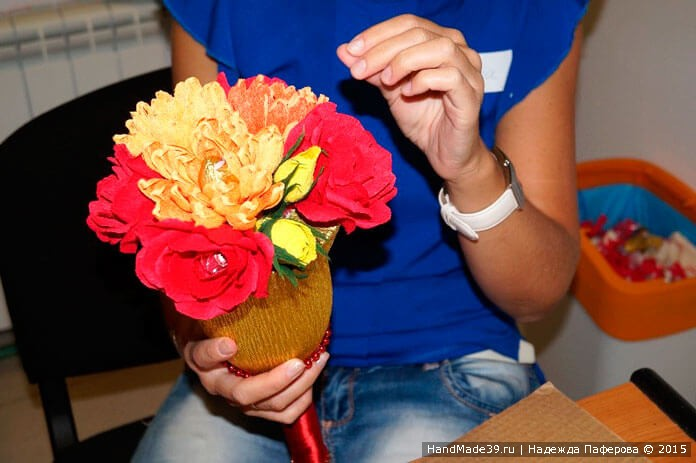 Свит-дизайн: МК «Колокольчик к 1 сентября». Цветы.