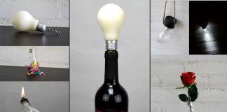5 стильных вещей, которые можно сделать из обычной стеклянной лампочки накаливания