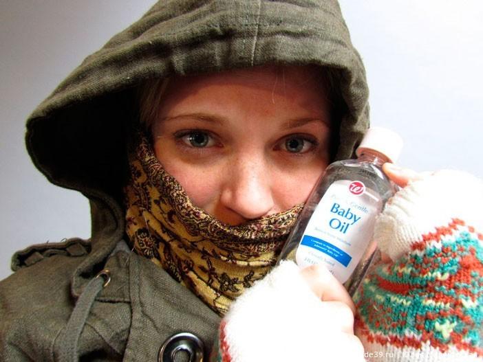 Как предотвратить обморожение лица и рук