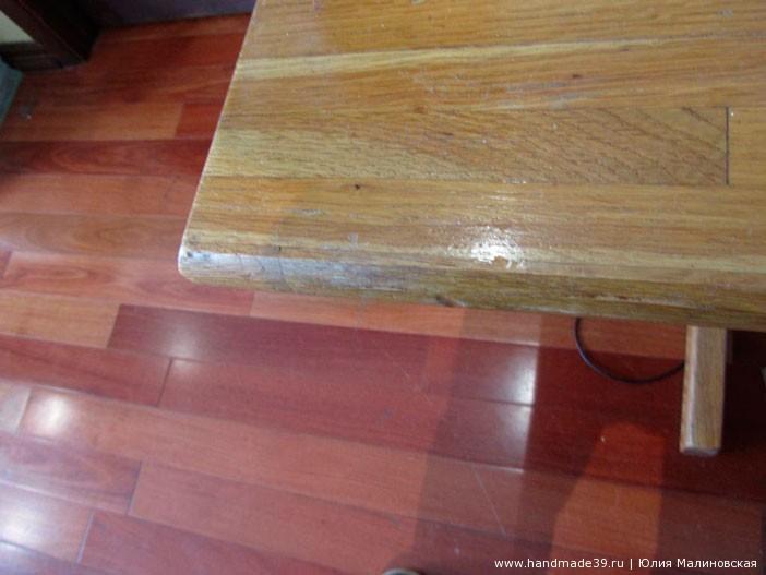 Как сделать деревянную мебель блестящей