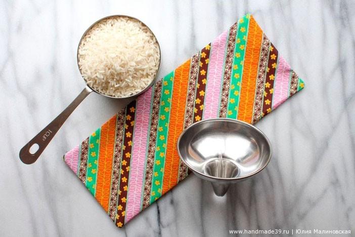 Необычное использование риса - как прогреть сусвавы