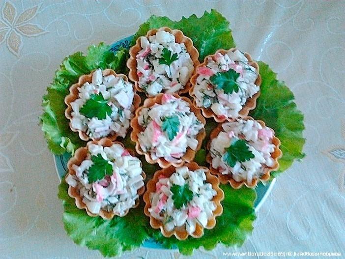 тарталетки пошаговый рецепт фото