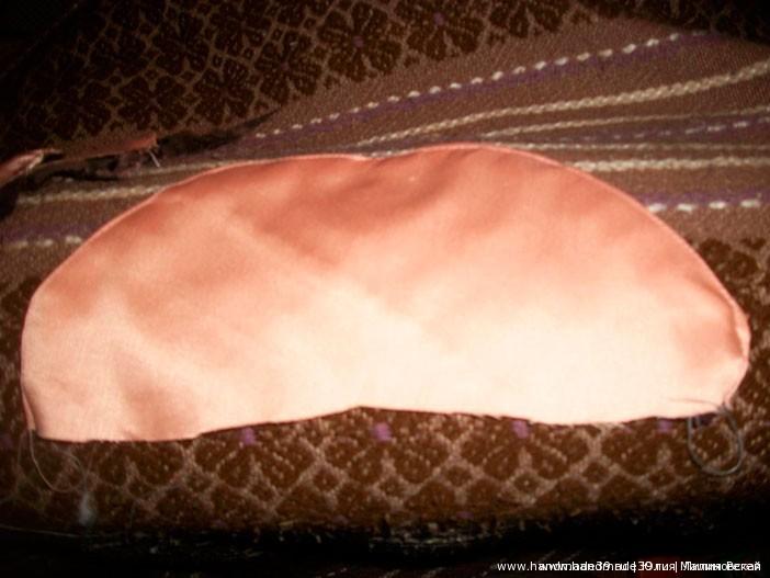 МК «Шитая подушка – роза с листьями» - лепестки