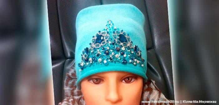 МК «Декор трикотажной шапки»