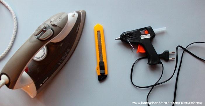Инструменты для работы с фоамираном