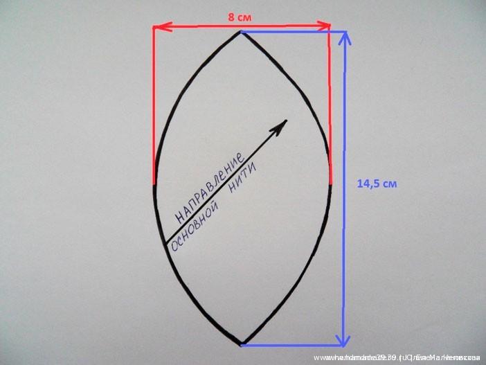 Как сшить шар из ткани - выкройка и МК