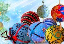 МК «Шитые новогодние шары»