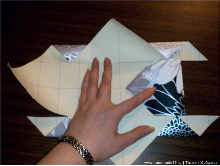 МК Бумажная коробка с крышкой
