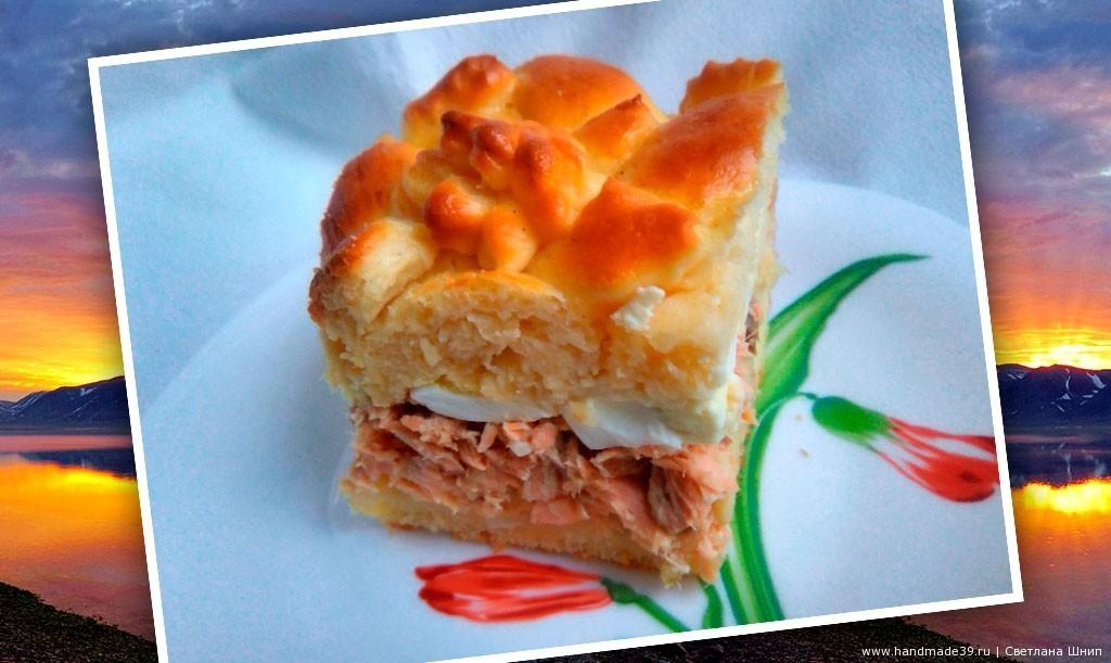 Рецепт рыбного пирога «Привет с Чукотки»