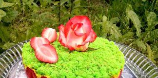 Торт Клубничная страсть с перцем чили и куркумой