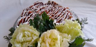 Овощные котлеты с грибами