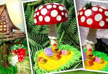 3D торт Мухомор, рецепт
