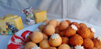Сырные шарики – пошаговый рецепт