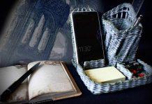 Плетёный органайзер «Заброшенный замок»