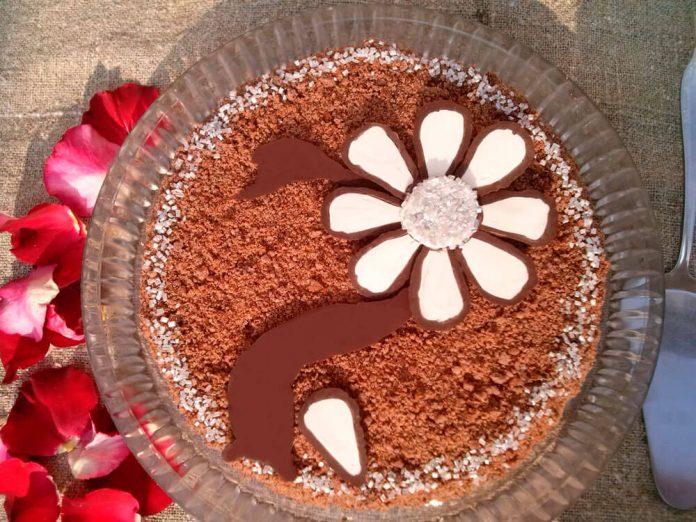 Торт с черёмухой, рецепт