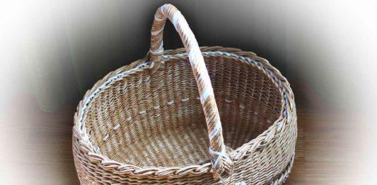 МК «Большая плетёная корзина»