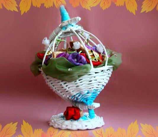 Мастер-класс «Плетёный глобус»