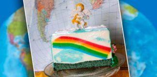 Торт-желе «Радуга»