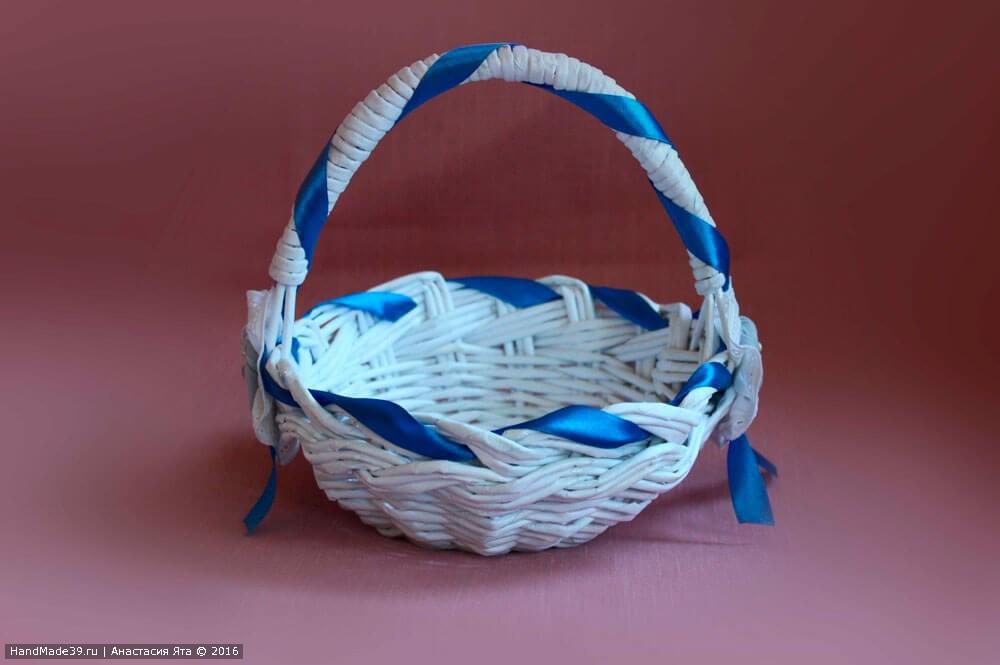МК Подарочная корзиночка