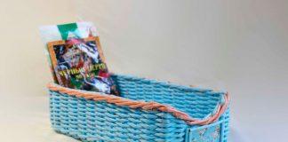 Плетёный короб для специй