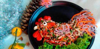 "Рецепт салата ""Тбилиси"""
