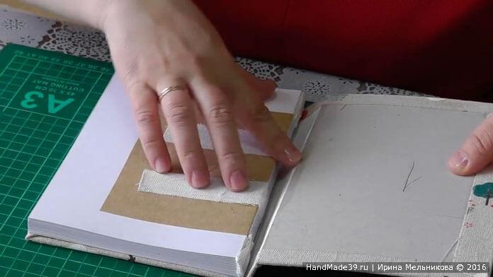 Альтер-скрап: как сделать обложку для блокнота, мастер-класс